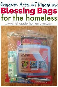 Blessing bags for the homeless service projects for Ideas for the homeless