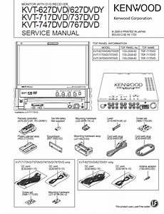 Kenwood Kvt 627dvd Wiring Diagram
