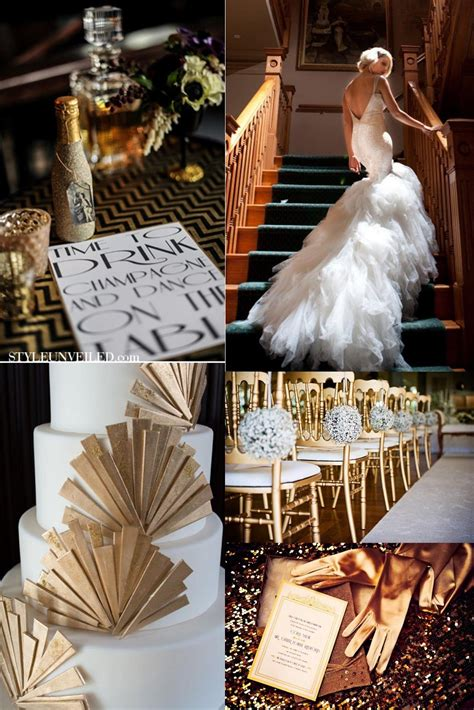 Great Gatsby Party Pink Events Wedding Inspiration