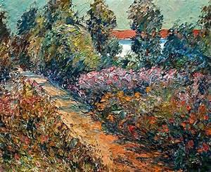 Leclerc Plein Air : sentier et jardin en fleurs by raynald leclerc plein ~ Dallasstarsshop.com Idées de Décoration