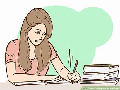 Exam Prepare Clipart Preparation Final Writing Taking