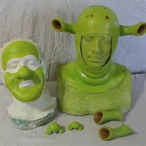 Shrek Prosthetics