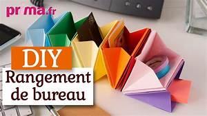 faire un rangement de bureau en origami tuto diy youtube With comment ranger son bureau de chambre