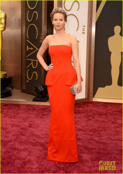Full Sized Photo Of Jennifer Lawrence Oscars 2014 Red