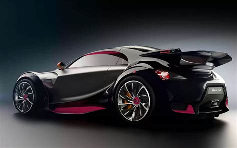 Citroen Car :  Citroen Survolt Concept Car Wallpapers