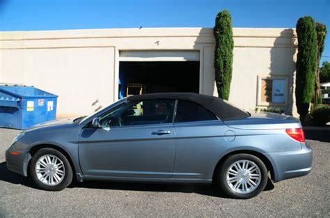airbag deployment 2009 chrysler sebring engine control purchase used 2009 chrysler sebring touring convertible 2 door 2 7l in st george utah united