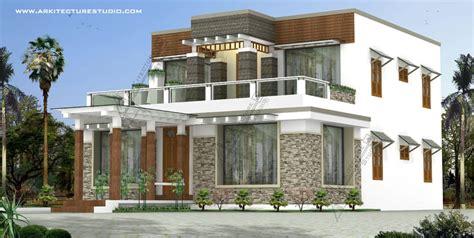 kerala home design  contemporary style   sqft