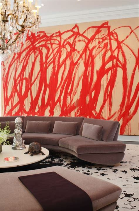 daring graffiti statement interior wall ideas digsdigs