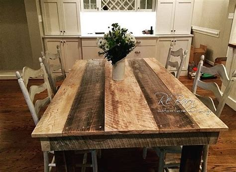 rustic country kitchen table 17 best ideas about rustic farm table on 4972