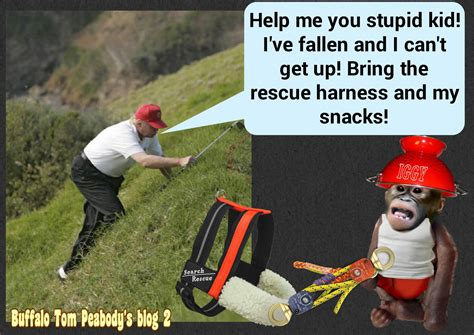 Help I Ve Fallen And I Cant Get Up Meme - the trump tower caper 25 goofy golf art by rob goldstein