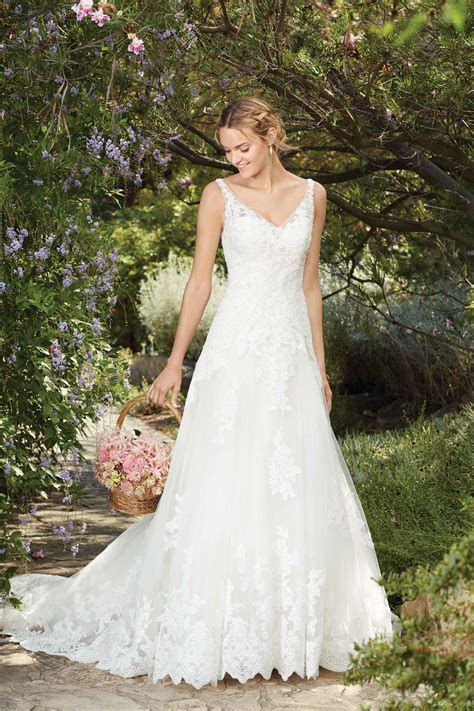 wedding dress  casablanca bridal hitchedcouk