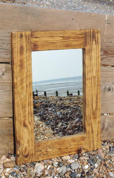 Wood Pallet Mirror Frame