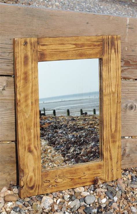 wood pallet mirror frame pallets designs