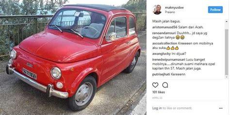 Gambar Mobil Gambar Mobilfiat 500 by Kenangan Bondan Quot Maknyus Quot Pernah Kepincut Pesona Mobil