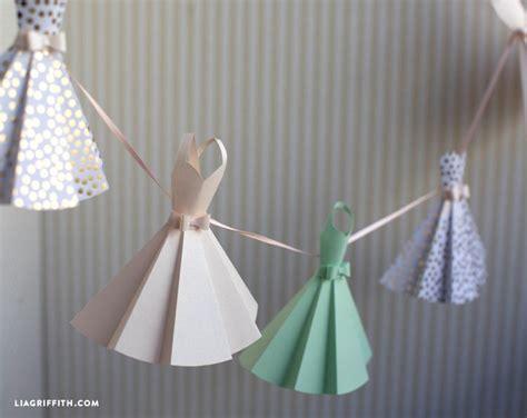 paper dress diy wedding decorations craft ideas diy