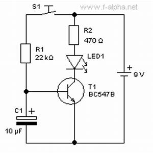 f alphanet experiment 12 delay circuit ii With electrolytic capacitors picture of good electronic circuit