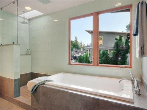 Kleines Bad Mit Dusche Und Fenster by 120 Moderne Designs Glaswand Dusche Archzine Net