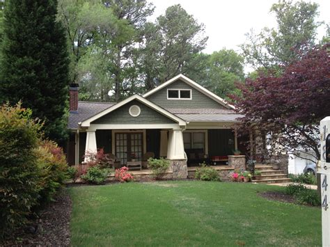 Painted Brick Ranch Style Homes Brick Ranch Curb Appeal