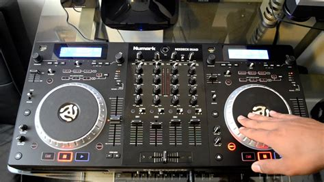 Numark Mixdeck Quad 4channel Universal Dj System Review