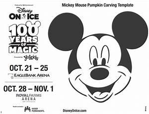Disney Trivia And Free Mickey Pumpkin Template