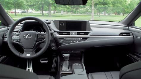Lexus Es 350 Interior by 2019 Lexus Es 350 F Sport Interior F Black Hadori