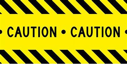 Caution Tape Vector Yellow Border Safety Warning