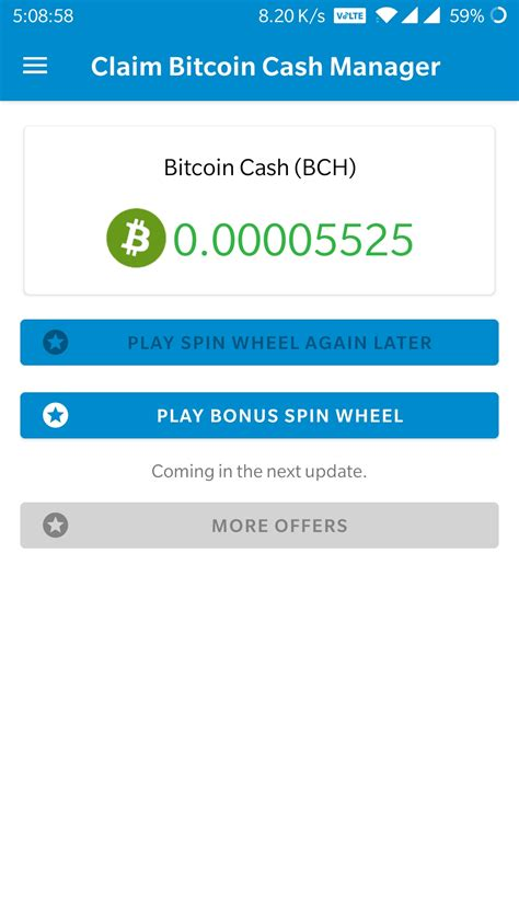 Have your bitcoin or bitcoin cash wallet address ready and visit the buy bitcoin page. ☑️NEW - Claim Bitcoin Cash Manager App Reviews : SCAM or LEGIT? | BeerMoneyForum.com - We Help ...