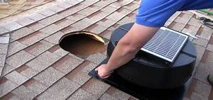 How To Install A 1010tr Solar Powered Attic Fan In Your