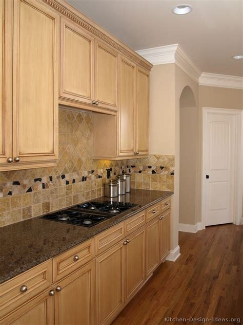 kitchen color schemes with wood cabinets pictures of kitchens traditional light wood kitchen