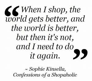 50 best Quotes For Shopaholics images on Pinterest