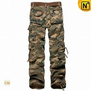 Cotton Military Cargo Camo Pants for Men CW140326