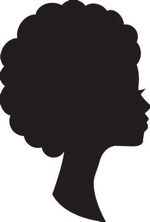 Stock Photo Silhueta negra Imagem negra Afro art