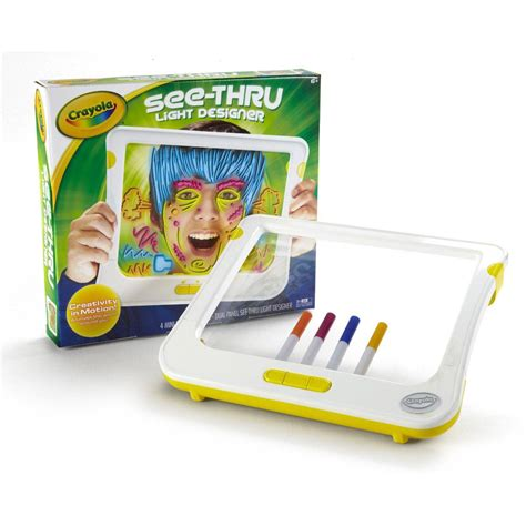 light board for kids crayola see thru light up designer childrens kids