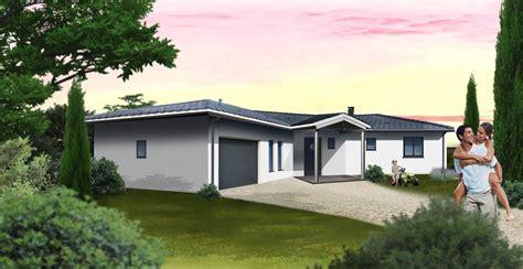 modèle plan maison 3 chambres chambre moderne en perspective