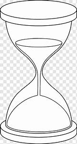 Hourglass Drawing Coloring Hour Glass Clip Pngwave Clock Size Save sketch template