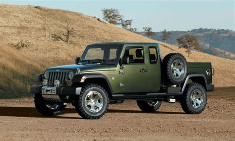 Jeep Truck by Unwrapping The Jeep Wrangler Truck