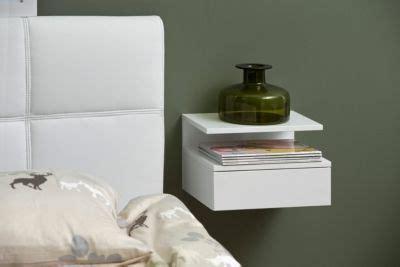 lade con piedistallo chevet suspendu ashlan blanc home table bedroom