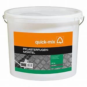 Ausgleichsmasse Quick Mix : quick mix pflasterfugenm rtel steingrau 25 kg bauhaus ~ Michelbontemps.com Haus und Dekorationen