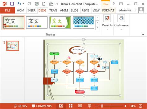 drawing flowcharts flowcharts in powerpoint