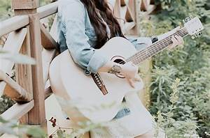 Music is My Life | We Heart It | guitar, girl, and pretty