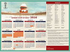 Supreme Court of India Holiday List 2016 India Customer Care
