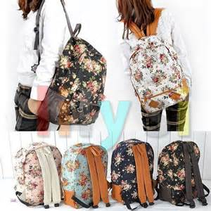 Cute High School Girl Backpack