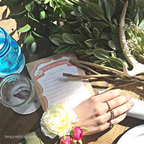 ten june diy floral wristlet corsage for baby bridal shower