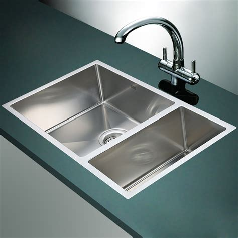 stainless kitchen sinks brienz stainless steel sinks what a renovator mate