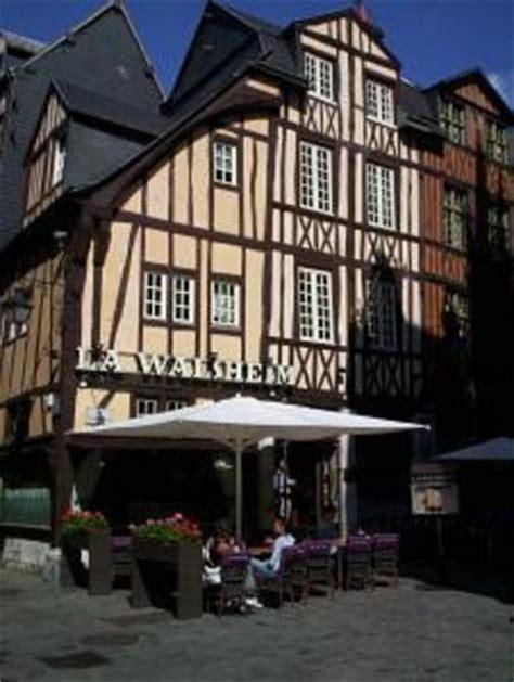 cuisine rouen restaurant la walsheim dans rouen avec cuisine française restoranking fr
