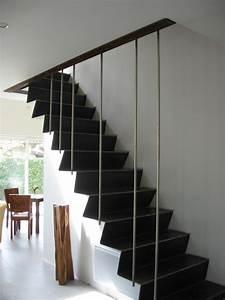 Escalier Bois Intérieur : escaliers interieur ~ Premium-room.com Idées de Décoration