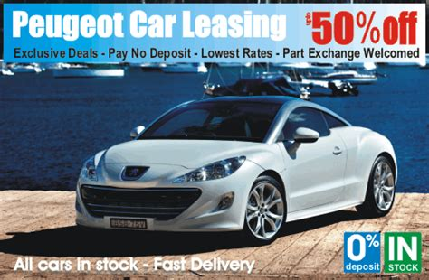 peugeot car lease scheme peugeot car leasing is cheaper at time4leasing