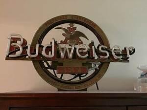 Vintage Anheuser Budweiser Neon Sign