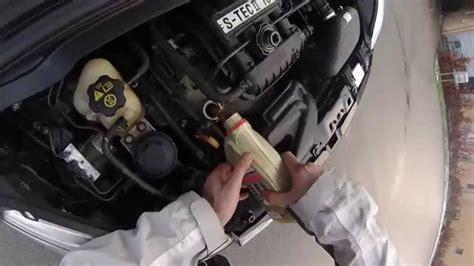chevrolet spark oil change youtube