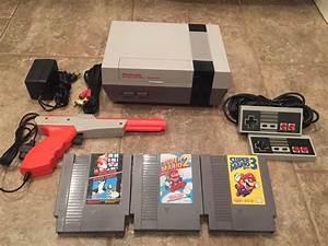 Nintendo Nes Console System Super Mario Bros 1 2 3 ...  Nes
